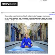 Luxury Design (octobre)