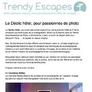 Trendy Escapes